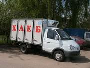 Автофургон хлебный 4 секционный на базе ГАЗ-3302 на 144 лотка./