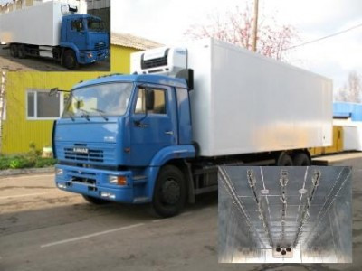 Камаз - 65117 тушевоз для перевозки мяса в охлажденном и замороженном виде/
