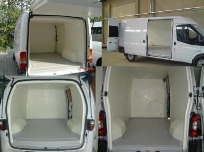 Теплоизоляционные панели Polkar, для цельнометаллических фургонов/