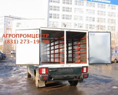 Автофургон хлебный на базе ИЖ-27175 на 40/48 лотков./