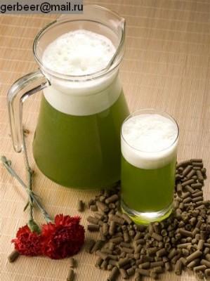 зелёное пиво/