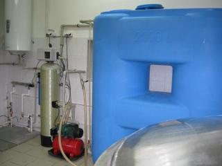 Система водоподготовки для заводов средней мощности/