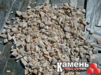 Мраморная крошка в Новосибирске/