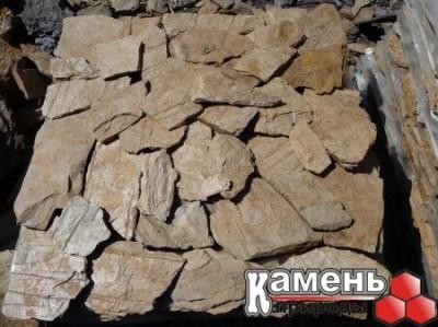 Природный камень - сланец желтый купить в Новосибирске/