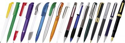 Ручки с логотипом./