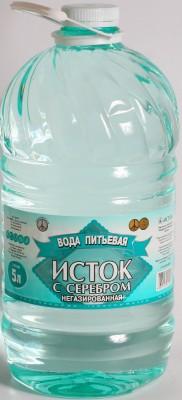 Питьевая вода Исток с серебром/