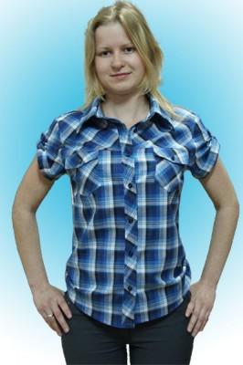 Блузка женская молодежная с коротким рукавом/