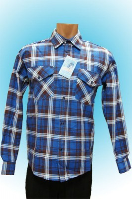 Рубашка мужская 2 кармана/