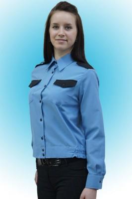 Рубашка охранника женская/