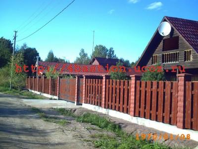 бетонный забор, заборные блоки производство/