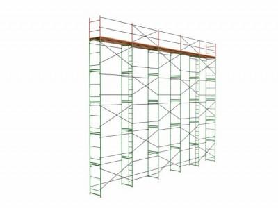Предлагаем Вам наши рамные строительные леса ЛР-60 для монтажных и строительных работ.