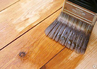 Обработка древесины укрывными, защитными и противопожарными составами/