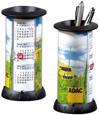 Подставка для ручек с календарём на 2020 год./