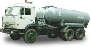 Вакуумная машина КО-505А на базе КАМАЗ-65115/