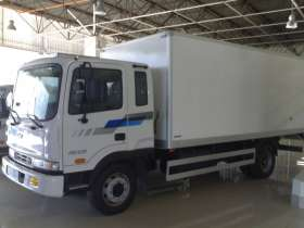 Hyundai HD-120 изотермический фургон/