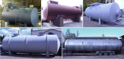 Резервуары для нефтепродуктов/