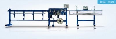 Оборудование для приклейки сетки из стекловолокна к уголку + система автоподачи уголка/