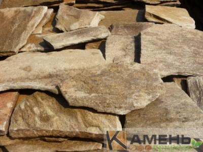 Златалит камень коричневый/