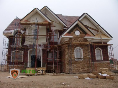 Строительство дома компанией Рего Строй/