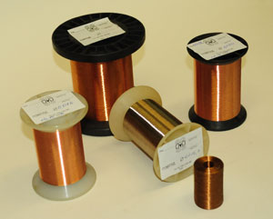 The production of enamelled wire
