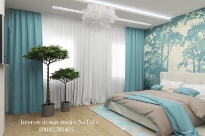Дизайн интерьера спальни/