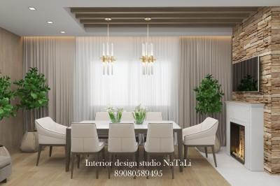 Дизайн интерьера гостиной/