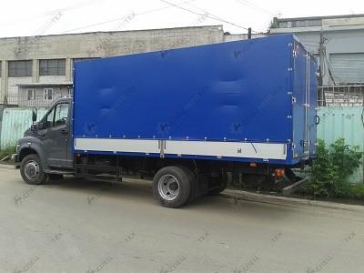 Европлатформа (еврофургон) на шасси ГАЗ-C41R13 ГАЗон-NEXT/