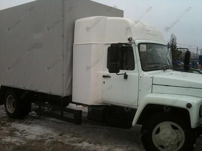 Закабинный спальник на ГАЗ-3309/