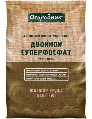 Удобрение минеральное Огородник Суперфосфат, сухое, гранулированный, тукосмесь 0,7 кг/