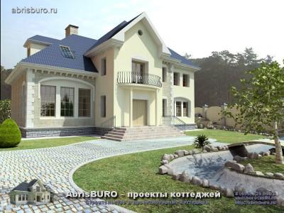 Проект коттеджа от архитекторов архитектурной фирмы АБРИСБЮРО/