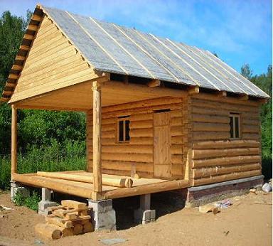Деревянный гостевой дом баня проекты