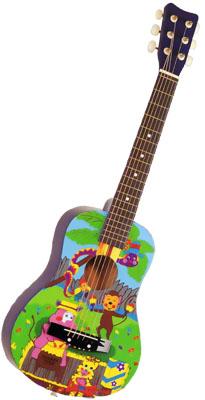 Детские и полноразмерные гитары/