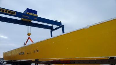 ЗАО Новые Технологии лидер среди отечественных производителей по выпуску подъемно-транспортного оборудования. Предприятие разрабатывает, производит, обеспечивает монтаж, ремонт и техническое обслуживание кранов мостовых, кранов консольных, кранов козловых/