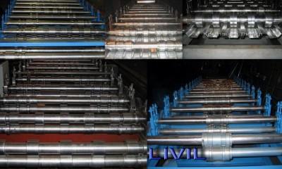 Компания ЛиВил занимается производством профилегибочного оборудования, металлопрофиля любой сложности от С-7 до Н-135, линии для металлочерепицы типа Монтеррей и Каскад, линии по производству узкого профиля типа Кнауф, агреты для резки металлопроката./