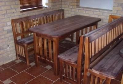 ПК ГАРАНТ (ип Белов) предлагает недорогую и качественную мебель из массива древесины собственного производства, без посредников и магазинных наценок. Детские кроватки, мебель для баров, садовая, дачная мебель, состаренная мебель, шезлонги, лавки, мебель д/