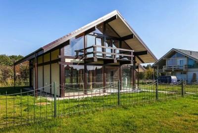 Производство СИП панелей с утеплителем из пенополиуретана для строительства жилых и административных зданий./