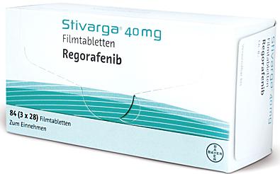 Stivarga применяется для лечения взрослых пациентов с Метастатический рак толстой и прямой кишки, ранее получавших доступные методы лечения или для тех, кому не подошли доступные методы лечения. Эти методы включают в себя фторпиримидина основе. Доставка/