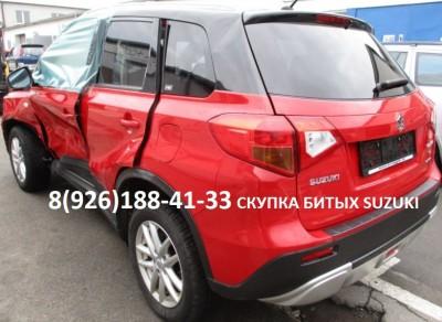 Скупка Битый Аварийный Suzuki Vitara, SX4, Jimny, Grand Vitara и др. модели не старше 15 лет./