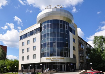 "Фасад отеля ""ATLAZA City Residence"""
